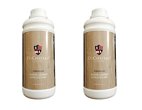 Duchateau Premium Floor Cleaner & Protectant- 33.8 Fl.oz/ 1 Liter (2 x Packs) by DuChateau