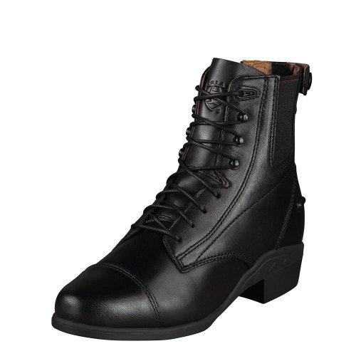 schwarz vorne 5 ZIP 5 hinten Damen Reißverschluß Stiefelette Ariat 38 PERFORMER 5 Schnürung ZxqOT1w1gn