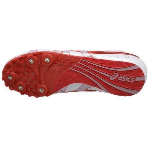 Iper rocketgirl amp; Bianco Campo Asics Petalo Rosa Scarpa Track Ciliegia 4 aZ5xUndwq