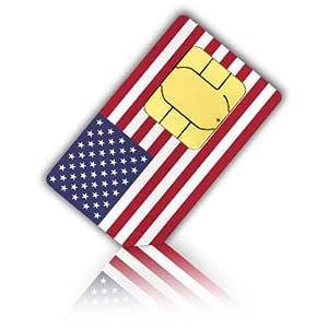 Tarjeta SIM para los Estados Unidos & Puerto Rico (Tel/SMS/datos ...