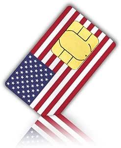 Tarjeta SIM de prepago Lycamobile para EE.UU. y Puerto Rico con 7 GB de datos durante 30 días (llamadas y mensajes de texto ilimitados tanto a nivel nacional como en más de