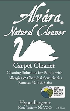 Alvara Carpet Cleaner 4 Quart Box Non Toxic Hypoallergenic For