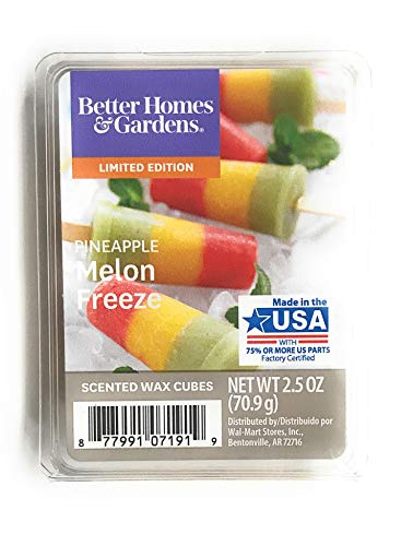 Better Homes and Gardens Pineapple Melon Freeze 2018 Limited Edition Wax Cubes