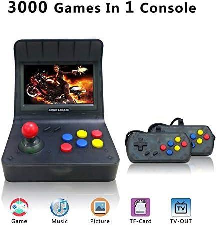 YLMレトロゲームコンソール、ポータブルゲームコンソール16GB 4.3インチスクリーン3000ゲーム [並行輸入品]