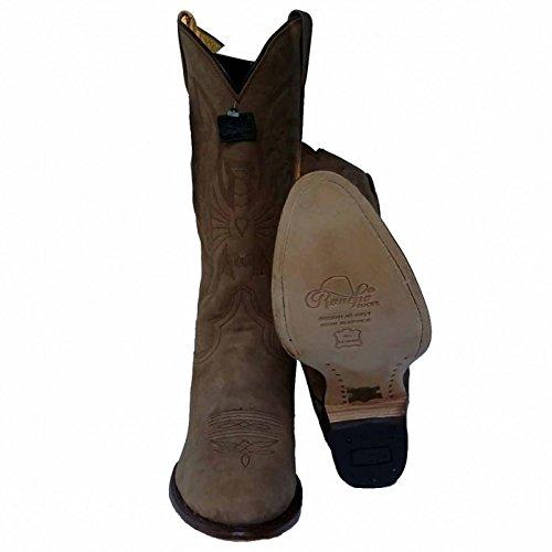 Western Nubuk Cowboy Pathe Rancho Botte 2058 SqOUaTw