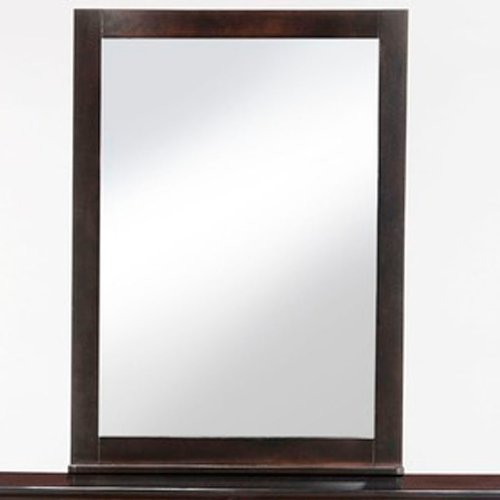 Night and Day Furniture Zest Mirror in Cherry Finish by Night & Day Furniture (Image #2)