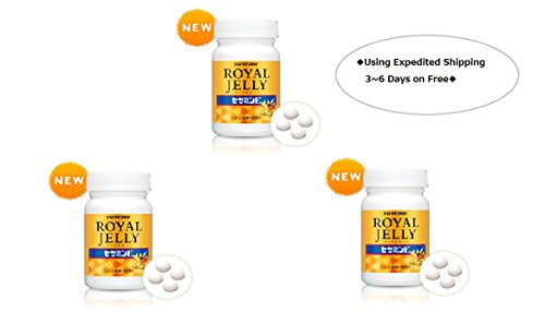 Suntory Royal Jelly + Sesamin E120 Tablets 30 Days×3bottles◆E-packet Estimated 6~10days◆ by Suntory
