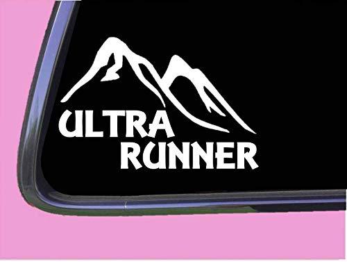 Ultra Runner TP 749 vinyl 6 Decal Sticker mom 5k marathon triathlon