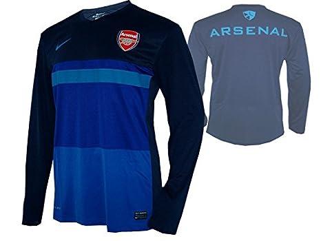 Nike Arsenal London Entrenamiento Top AFC Jersey Camiseta Azul: Amazon.es: Electrónica