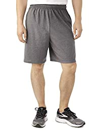 "Fruit of the Loom Men's Knit Short (3XB (Waist 48""-50""), Charcoal Grey)"