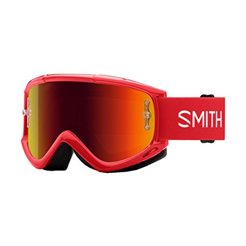 (Smith Optics Fuel V1 Adult Off-Road Goggles - Rise/Red Mirror/One Size)