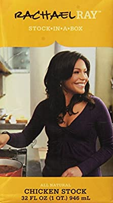 Rachael Ray, All Natural, Chicken Stock in a Box, 32oz Box (Pack of 3)
