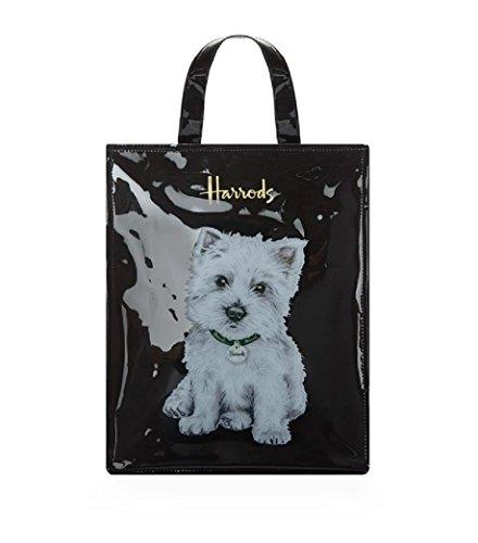 Harrods Bag Handles Black Medium Black Woman