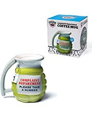 BigMouth Inc Grenade Mug - Take a Number Ceramic Funny Coffee, Tea, Hot Chocolate Mug Gift