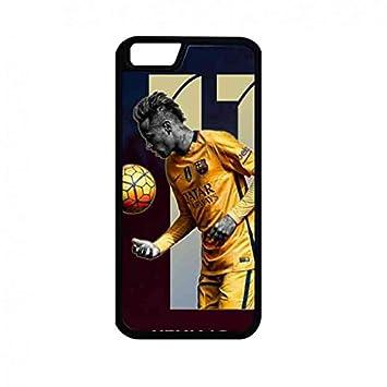 Barcelona Football Player Neymar Funda, iPhone 6/iPhone 6S Cubierta la caja registradora Neymar Funda, Cubierta dura para Neymar Funda, no.10 camiseta ...