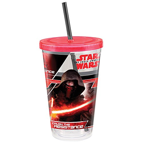 Star Wars Episode VII The Force Awakens Double-Walled Acrylic Travel Tumbler