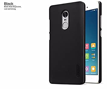 c984a447943 Image Unavailable. Image not available for. Colour  ROCK Premium Black Back  Cover for REDMI NOTE 4 Clear Flexible Soft Silicon Case