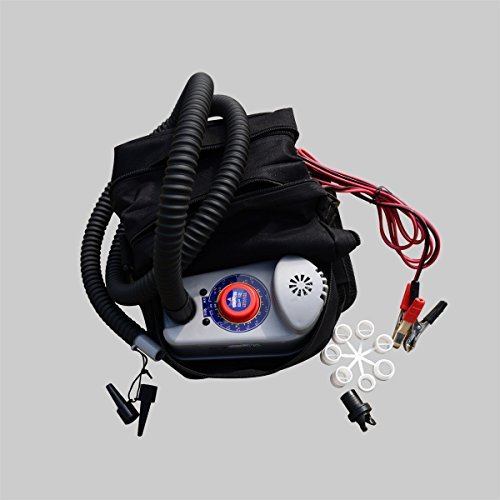 Bravo! 12V BP12 Inflatable Boat Kayak Tent Kite Automatic Stop Electric Pump