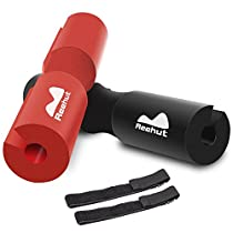 REEHUT Barbell Squat Pad - Advanced Neck & Shoulder Ergonomic Protective Pad Support for Squats, Lunges & Hip Thrusts