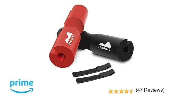 REEHUT Barbell Squat Pad - Almohadilla de protección ergonómica Avanzada para Cuello y Hombros para Sentadillas, Sentadillas y Empuje de Cadera: Amazon.es: ...