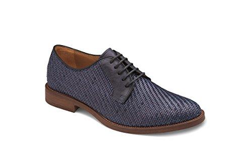 Soldini - Zapatos de cordones de Piel para hombre azul turquesa 44