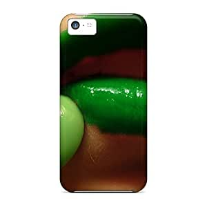 linJUN FENGFashion Protective Green Lips Case Cover For iphone 6 plus 5.5 inch