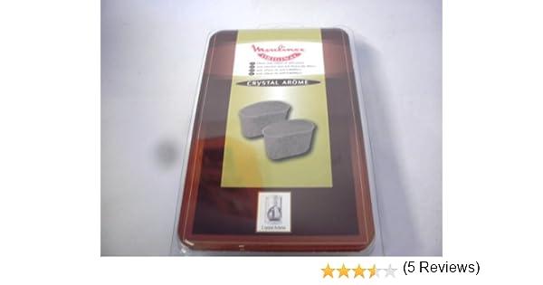Moulinex aw6401 – Cloro filtro para cafetera Crystal Arome: Amazon ...
