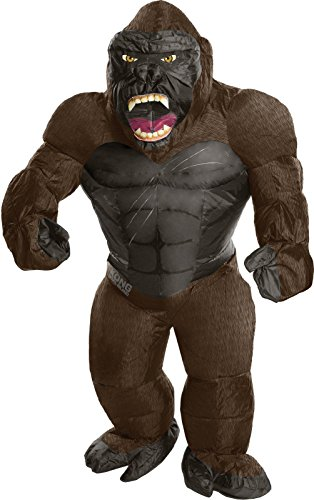 Rubie's Costume Kong: Skull Island Child's Inflatable King Kong Costume, Multicolor, One Size (Inflatable Gorilla)