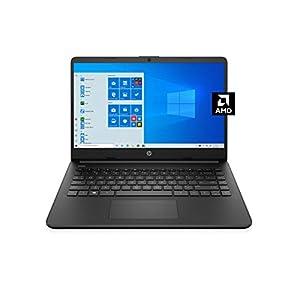 HP 14 Laptop, AMD 3020e, 4 GB RAM, 64 GB eMMC Storage, 14-inch HD Display, Windows 10 Home in S Mode, Long Battery Life, Microsoft 365, (14-fq0020nr, 2020)