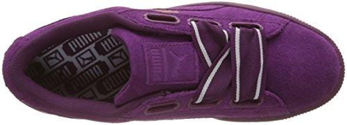 Puma Damen Camoscio Cuore Raso Ii Sneaker Violett (viola Scuro-viola Scuro)