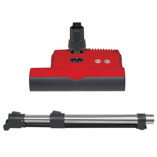 Sebo ET-1 Powerhead with Wand for Central Vacuum (Red)