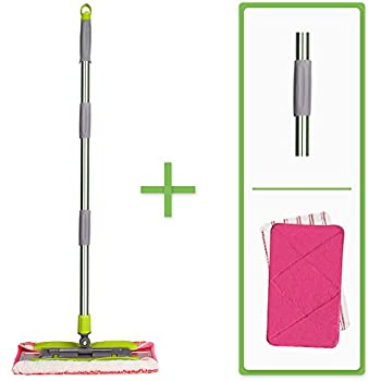 Amazon Com Linkyo Microfiber Hardwood Floor Mop 3