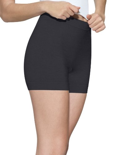 Barely There Shapewear (Barely There Second Skinnies Smoothers Boxer - 4J83 Black X-Large)