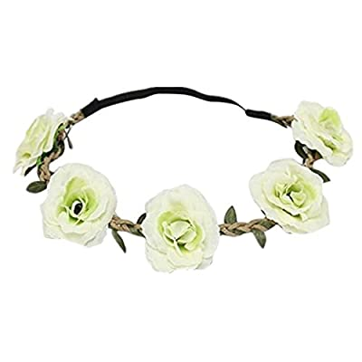 Discount Susenstone New Style Floral Flower Party Wedding Hair Wreaths Headband Hair Band for cheap