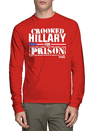 Sleeve Crooked Hillary Prison T shirt