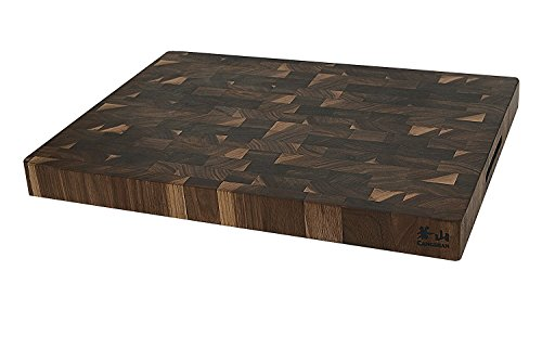 Cangshan 1022360 Walnut End-Grain Cutting Board,16 x 22 x 2'', Crafted in USA by Cangshan