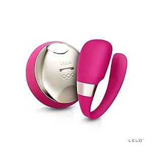 LELO Tiani 3 Couple's Vibrator, Cerise, 1.05 Pound