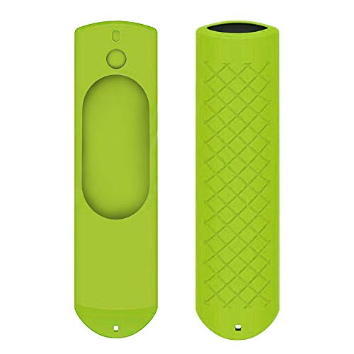 Winkey Case Protector, Silicon Case Compatible For 5.9″ Amazon Fire TV Stick Voice Remote All Gen Anti Slip Shock Proof Case Cover (Green)