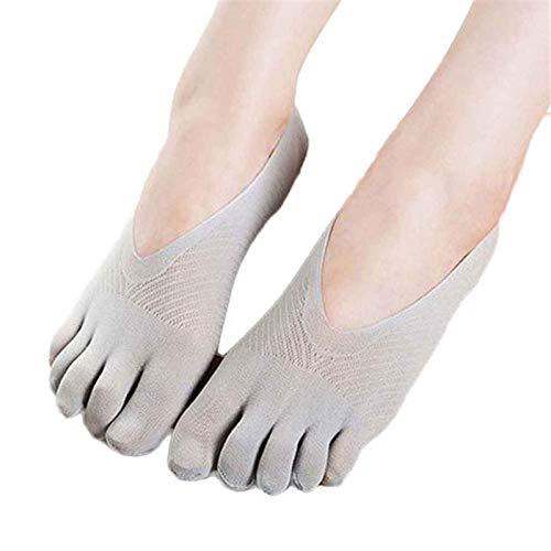 (Toe Socks,Fashion Arrival Womens Girls Toe Sock Slippers Invisibility Low Cut Socks)