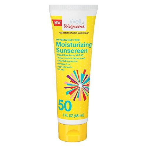 Walgreens Sunscreen Moisturizing Lotion SPF 50 Tube (3 oz.)