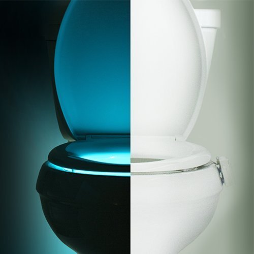 IllumiBowl Toilet Night Light (As Seen On Shark Tank)