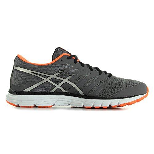 Asics Gel-Zaraca 4, Chaussures de Running Compétition Homme, Bleu Gris