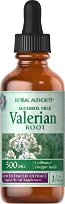 Herbal Authority Valerian Root Liquid Extract-1 fl oz Liquid