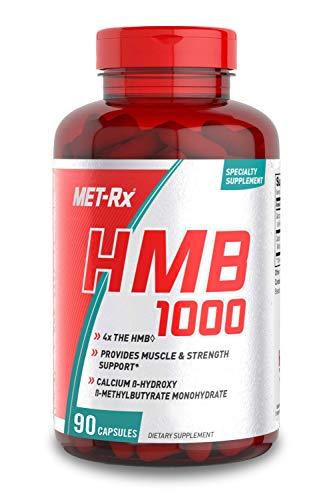 MET-Rx HMB 1000 Diet Supplement Capsules, 90 Count
