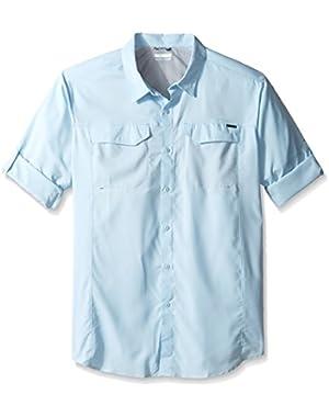 Men's Big-Tall Silver Ridge Lite Long Sleeve Shirt, Oxygen, X-Large