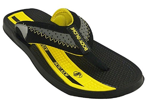 Body Glove Cruise II Sandals Black/Yellow 2YYry1zen