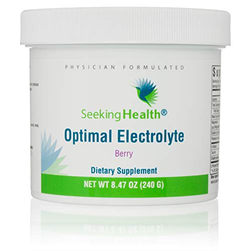 Optimal Electrolyte Berry | 30 Powder Servings | Seeking Health | Natural Electrolyte Powder | Electrolyte Replacement