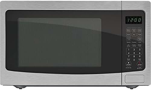 Chef Star CS72123 1.2 cu. ft. 1100-watts Countertop Microwave - Stainless Steel (Certified Refurbished)