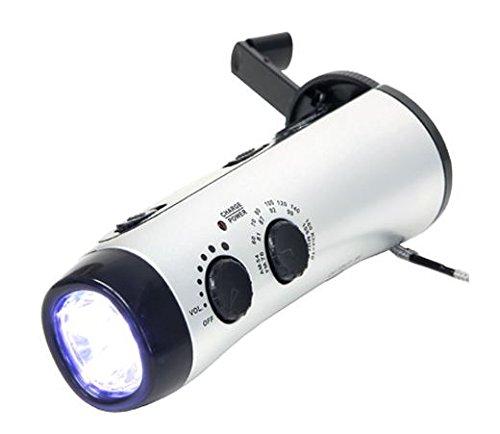 【 재해 긴급 대피 용품 】 도움을 청할 기복 사이렌 기능과 수동식 충전 라디오 라이트 / 【 Disaster Emergency Evacuation Supplies 】 Rescue Siren singing radio light with function