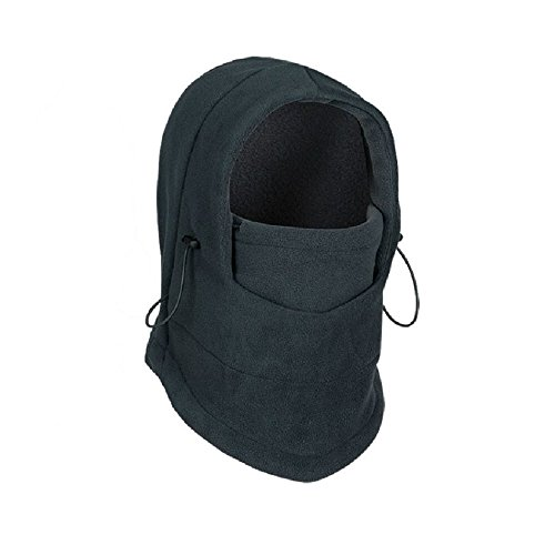 Winter Warm Fleece Beanie Hats for Men Skull Bandana Neck Warmer Balaclava Ski Snowboard Face Mask, Wargame Special Forces Mask (Black (Jack Daniels Girl Halloween Costume)